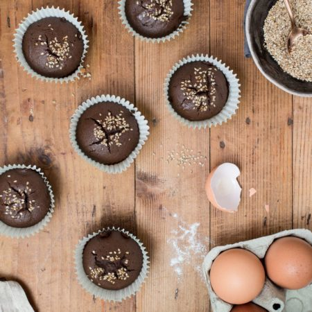 Stop grignotage – Muffin tahini